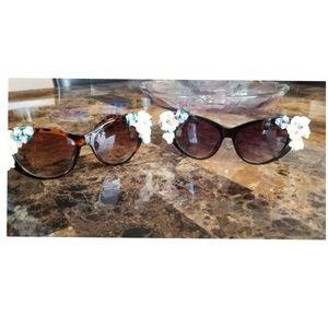 Amazing Retro Floral Sunglasses